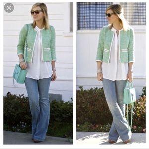 Clover tweed jacket cabi euc 16